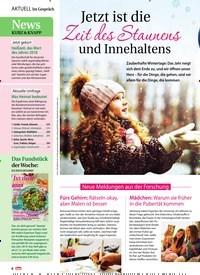 Titelbild der Ausgabe 1/2019 von Jetzt ist die Zeit des Staunens und Innehaltens. Zeitschriften als Abo oder epaper bei United Kiosk online kaufen.