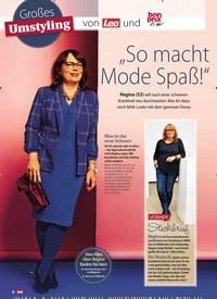 """Titelbild der Ausgabe 2/2019 von Großes Umstyling: Von Lea und bon prix it's me: """"So macht Mode Spaß!"""". Zeitschriften als Abo oder epaper bei United Kiosk online kaufen."""