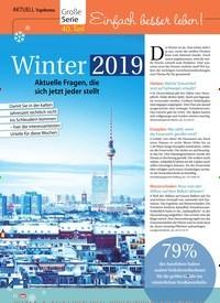 Titelbild der Ausgabe 2/2019 von Topthema: Große Serie: 40. Teil: Einfach besser leben!: Winter 2019. Zeitschriften als Abo oder epaper bei United Kiosk online kaufen.