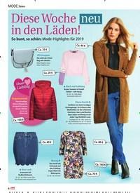 Titelbild der Ausgabe 3/2019 von Mode News : Diese Woche neu in den Läden!. Zeitschriften als Abo oder epaper bei United Kiosk online kaufen.