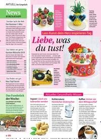 Titelbild der Ausgabe 5/2019 von Im Gespräch: Lass-Kunst-dein-Herz-inspirieren-Tag: Liebe, was du tust!. Zeitschriften als Abo oder epaper bei United Kiosk online kaufen.