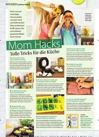 Titelbild der Ausgabe 6/2019 von RATGEBER Leichter leben: Mom Hacks Tolle Tricks für die Küche. Zeitschriften als Abo oder epaper bei United Kiosk online kaufen.