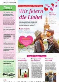 Titelbild der Ausgabe 7/2019 von Interessantes zum Valentinstag: Wir feiern die Liebe!. Zeitschriften als Abo oder epaper bei United Kiosk online kaufen.