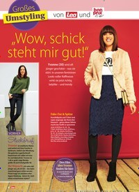 """Titelbild der Ausgabe 7/2019 von Großes Umstyling: """"Wow, schick steht mir gut!"""". Zeitschriften als Abo oder epaper bei United Kiosk online kaufen."""