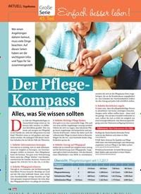 Titelbild der Ausgabe 7/2019 von Topthema: Einfach besser leben! Der Pflege-Kompass. Zeitschriften als Abo oder epaper bei United Kiosk online kaufen.