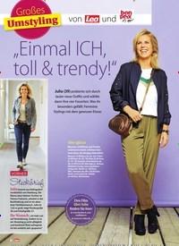 """Titelbild der Ausgabe 8/2019 von Großes Umstyling: """"Einmal ICH, toll & trendy!"""". Zeitschriften als Abo oder epaper bei United Kiosk online kaufen."""
