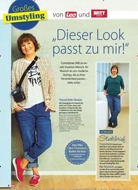 """Titelbild der Ausgabe 9/2019 von Großes Umstyling: """"Dieser Look passt zu mir!"""". Zeitschriften als Abo oder epaper bei United Kiosk online kaufen."""