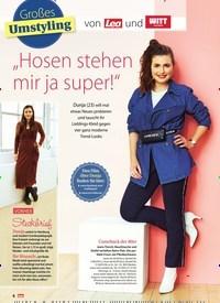 """Titelbild der Ausgabe 10/2019 von Großes Umstyling von Lea und WITT weiden: """"Hosen stehen mir ja super!"""". Zeitschriften als Abo oder epaper bei United Kiosk online kaufen."""