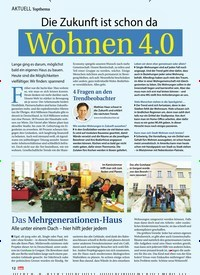 Titelbild der Ausgabe 10/2019 von AKTUELL Topthema: Die Zukunft ist schon da Wohnen 4.0. Zeitschriften als Abo oder epaper bei United Kiosk online kaufen.