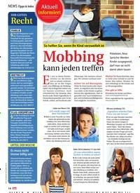 Titelbild der Ausgabe 10/2019 von Aktuell informiert: So helfen Sie, wenn Ihr Kind verzweifelt ist: Mobbing kann jeden treffen. Zeitschriften als Abo oder epaper bei United Kiosk online kaufen.