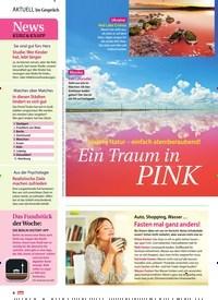 Titelbild der Ausgabe 11/2019 von Im Gespräch: Unsere Natur – einfach atemberaubend!: Ein Traum in Pink. Zeitschriften als Abo oder epaper bei United Kiosk online kaufen.
