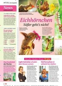 Titelbild der Ausgabe 12/2019 von Eichhörnchen Süßer geht's nicht!. Zeitschriften als Abo oder epaper bei United Kiosk online kaufen.