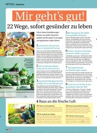 Titelbild der Ausgabe 12/2019 von Topthema: Mir geht's gut!. Zeitschriften als Abo oder epaper bei United Kiosk online kaufen.