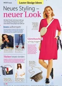 Titelbild der Ausgabe 13/2019 von Trends: Lauter lässige Ideen: Neues Styling – neuer Look. Zeitschriften als Abo oder epaper bei United Kiosk online kaufen.
