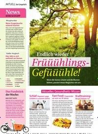 Titelbild der Ausgabe 14/2019 von Im Gespräch: Endlich wieder: Früüühlings-Gefüüühle!. Zeitschriften als Abo oder epaper bei United Kiosk online kaufen.