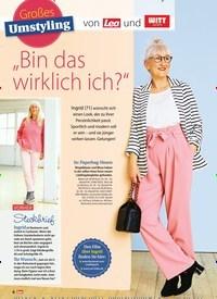 """Titelbild der Ausgabe 14/2019 von Großes Umstyling: von Lea und: """"Bin das wirklich ich?"""". Zeitschriften als Abo oder epaper bei United Kiosk online kaufen."""