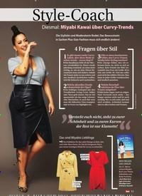 Titelbild der Ausgabe 14/2019 von Style-Coach: Diesmal: Miyabi Kawai über Curvy-Trends. Zeitschriften als Abo oder epaper bei United Kiosk online kaufen.