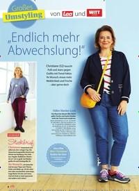 """Titelbild der Ausgabe 15/2019 von Großes Umstyling: von Lea und: """"Endlich mehr Abwechslung!"""". Zeitschriften als Abo oder epaper bei United Kiosk online kaufen."""