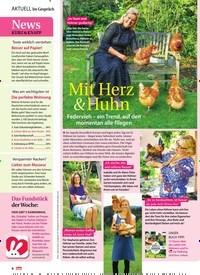 Titelbild der Ausgabe 16/2019 von Mit Herz & Huhn. Zeitschriften als Abo oder epaper bei United Kiosk online kaufen.