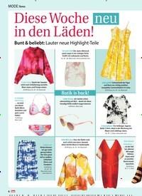 Titelbild der Ausgabe 16/2019 von Mode News: Diese Woche in den Läden! neu. Zeitschriften als Abo oder epaper bei United Kiosk online kaufen.