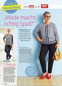 """Titelbild der Ausgabe 16/2019 von Großes Umstyling: von Lea und WITT weiden: """"Mode macht richtig Spaß!"""". Zeitschriften als Abo oder epaper bei United Kiosk online kaufen."""