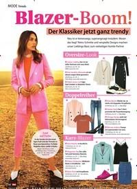 Titelbild der Ausgabe 16/2019 von Mode Trends: Blazer-Boom!. Zeitschriften als Abo oder epaper bei United Kiosk online kaufen.