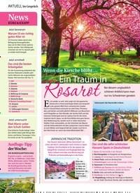 Titelbild der Ausgabe 17/2019 von Wenn die Kirsche blüht … Ein Traum in Rosarot. Zeitschriften als Abo oder epaper bei United Kiosk online kaufen.