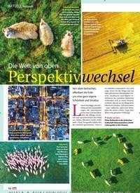 Titelbild der Ausgabe 17/2019 von Die Welt von oben Perspektivwechsel. Zeitschriften als Abo oder epaper bei United Kiosk online kaufen.