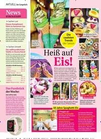 Titelbild der Ausgabe 18/2019 von Heiß auf Eis!. Zeitschriften als Abo oder epaper bei United Kiosk online kaufen.