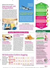 Titelbild der Ausgabe 18/2019 von Aktuelles Gesundheits-Wissen. Zeitschriften als Abo oder epaper bei United Kiosk online kaufen.