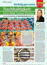 Titelbild der Ausgabe 18/2019 von Richtig gut essen: Nachhaltigkeit Jetzt DAS Trend-Thema. Zeitschriften als Abo oder epaper bei United Kiosk online kaufen.