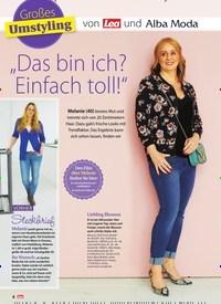 """Titelbild der Ausgabe 19/2019 von Großes Umstyling : """"Das bin ich? Einfach toll!"""". Zeitschriften als Abo oder epaper bei United Kiosk online kaufen."""