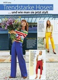 Titelbild der Ausgabe 19/2019 von MODE Styling: Trendstarke Hosen. Zeitschriften als Abo oder epaper bei United Kiosk online kaufen.
