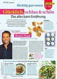 Titelbild der Ausgabe 19/2019 von AKTULL Topthema : Richtig gut essen: Glücklich, schlau & schön : Das alles kann Ernährung. Zeitschriften als Abo oder epaper bei United Kiosk online kaufen.