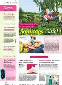 Titelbild der Ausgabe 20/2019 von Im Gespräch. Zeitschriften als Abo oder epaper bei United Kiosk online kaufen.