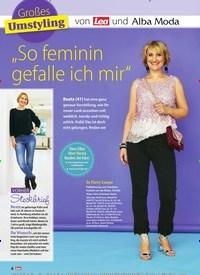 """Titelbild der Ausgabe 20/2019 von Großes Umstyling von Lea und Alba Moda: """"So feminin gefalle ich mir"""". Zeitschriften als Abo oder epaper bei United Kiosk online kaufen."""