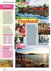 Titelbild der Ausgabe 21/2019 von Das Glück wohnt in Finnland!. Zeitschriften als Abo oder epaper bei United Kiosk online kaufen.