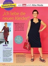 """Titelbild der Ausgabe 21/2019 von Großes Umstyling: von Lea und Alba Moda: """"Ich liebe die neuen Kleider!"""". Zeitschriften als Abo oder epaper bei United Kiosk online kaufen."""