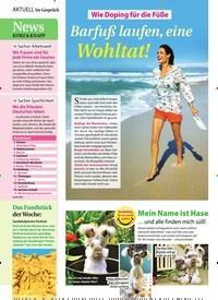 Titelbild der Ausgabe 24/2019 von News: Kurz & Knapp. Zeitschriften als Abo oder epaper bei United Kiosk online kaufen.