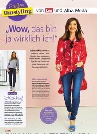 """Titelbild der Ausgabe 24/2019 von Großes Umstyling: von Lea und Alba Moda: """"Wow, das bin ja wirklich ich!"""". Zeitschriften als Abo oder epaper bei United Kiosk online kaufen."""
