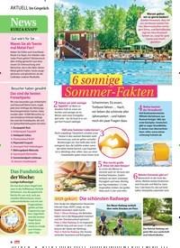 Titelbild der Ausgabe 26/2019 von Im Gespräch: 6 sonnige Sommer-Fakten. Zeitschriften als Abo oder epaper bei United Kiosk online kaufen.