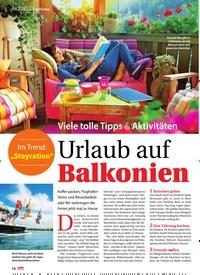 Titelbild der Ausgabe 27/2019 von Topthema: Viele tolle Tipps & Aktivitäten: Urlaub auf Balkonien. Zeitschriften als Abo oder epaper bei United Kiosk online kaufen.