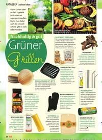 Titelbild der Ausgabe 27/2019 von Leichter leben: Nachhaltig & gut: Grüner Grillen. Zeitschriften als Abo oder epaper bei United Kiosk online kaufen.