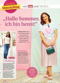 """Titelbild der Ausgabe 29/2019 von Großes Umstyling: """"Hallo Sommer, ich bin bereit!"""". Zeitschriften als Abo oder epaper bei United Kiosk online kaufen."""