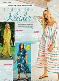Titelbild der Ausgabe 29/2019 von Mode Trends: Weiblich & einfach wunderbar: Total verliebt in Kleider. Zeitschriften als Abo oder epaper bei United Kiosk online kaufen.