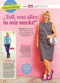 """Titelbild der Ausgabe 31/2019 von Großes Umstyling: von Lea und MOnA: """"Toll, was alles in mir steckt!"""". Zeitschriften als Abo oder epaper bei United Kiosk online kaufen."""