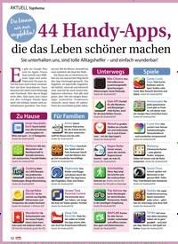 Titelbild der Ausgabe 31/2019 von Topthema: Die können wir nur empfehlen!: 44 Handy-Apps, die das Leben schöner machen. Zeitschriften als Abo oder epaper bei United Kiosk online kaufen.