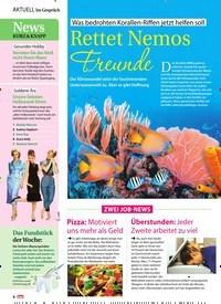 Titelbild der Ausgabe 36/2019 von Was bedrohten Korallen-Riffen jetzt helfen soll: Rettet Nemos Freunde. Zeitschriften als Abo oder epaper bei United Kiosk online kaufen.