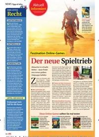Titelbild der Ausgabe 40/2019 von Aktuell informiert: Faszination Online-Games Der neue Spieltrieb. Zeitschriften als Abo oder epaper bei United Kiosk online kaufen.