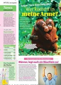 Titelbild der Ausgabe 43/2019 von Sogar Tiere kuscheln gern Wer kommt in meine Arme?. Zeitschriften als Abo oder epaper bei United Kiosk online kaufen.